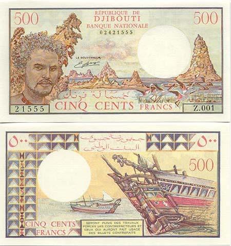 Banknote Dschibuti