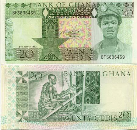 Banknote Ghana