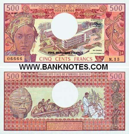Banknote Kamerun