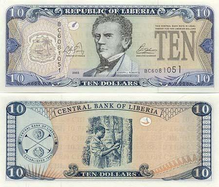 Banknote Liberia