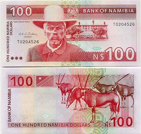Banknote Namibia