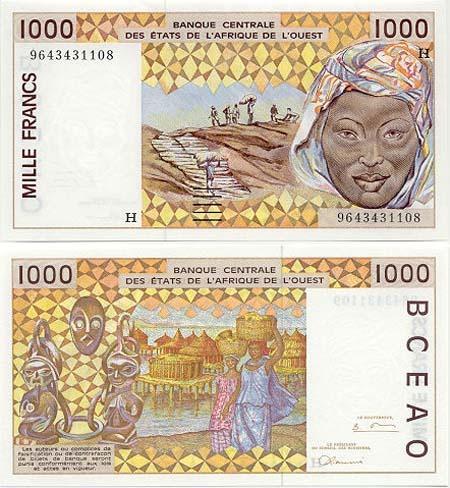Banknote Niger