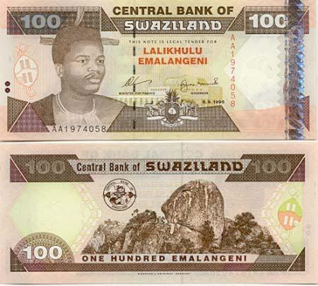Banknote Swasiland
