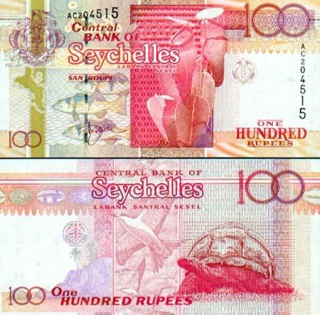 Banknote Seychellen