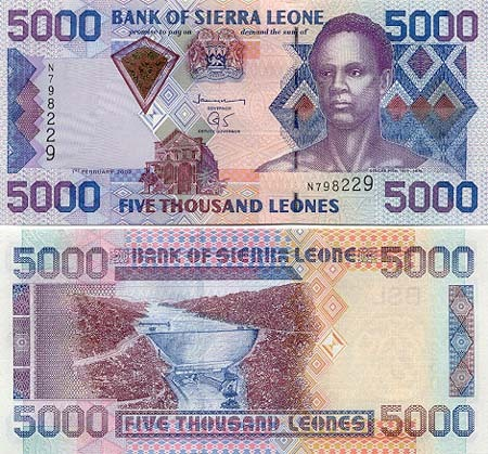 Banknote Sierra Leone