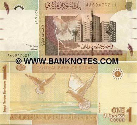 Banknote Sudan