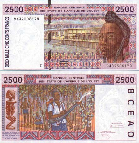 Banknote Togo