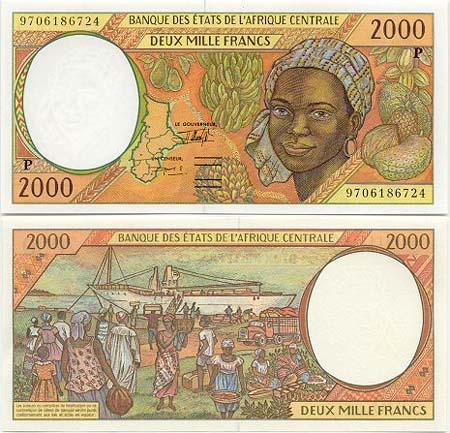 Banknote Tschad
