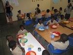 Gemeinsames Mittagessen nach der Schule