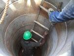 Kamerun / Arbeit in der Röhre