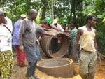 Kamerun / Brunnenarbeiten