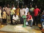 Kamerun / der fertige Brunnen in Nkadip