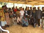 Kamerun / Die Bewohner von Nkadip