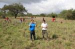 Tansania / Besprechung im Busch