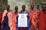 Tansania / Urkunde Soroptimist Club Massai