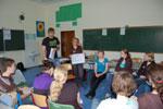 Schulworkshop in Deutschland