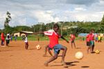 Projekt vor Ort - Fussball