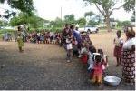 Simbabwe Kinder Schlange