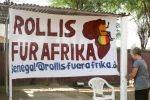 Rollis für Afrika Banner