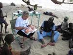 Hebamme Hreia Hondorf in Kenia
