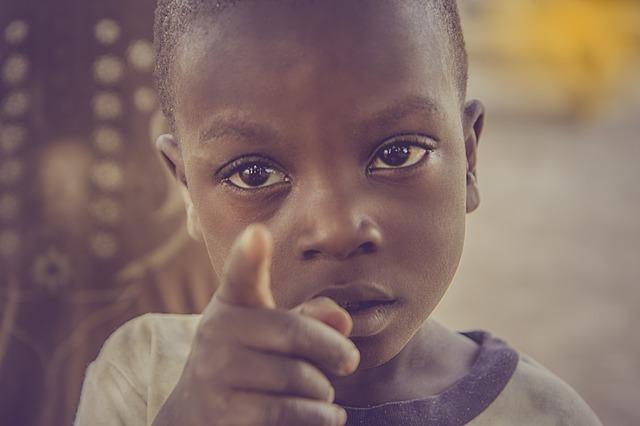 Kleines afrikanisches Kind