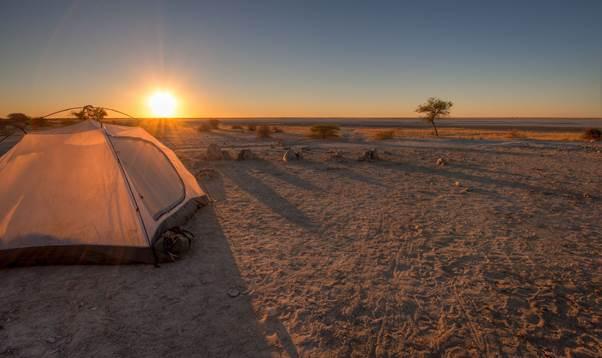 Zelten & Campen in Botswana